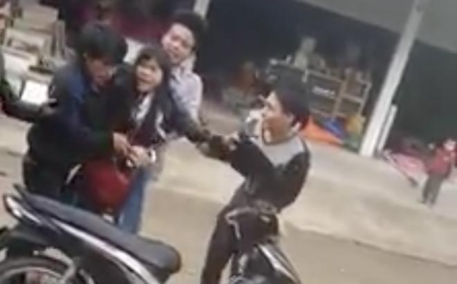 Thanh niên bắt vợ giữa đường ở Nghệ An không bị xử lý hình sự - Ảnh 2.