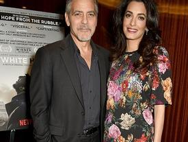 """""""Tài tử tóc muối tiêu đẹp trai nhất Hollywood"""" George Clooney sắp chào đón một cặp song sinh ở tuổi 55"""