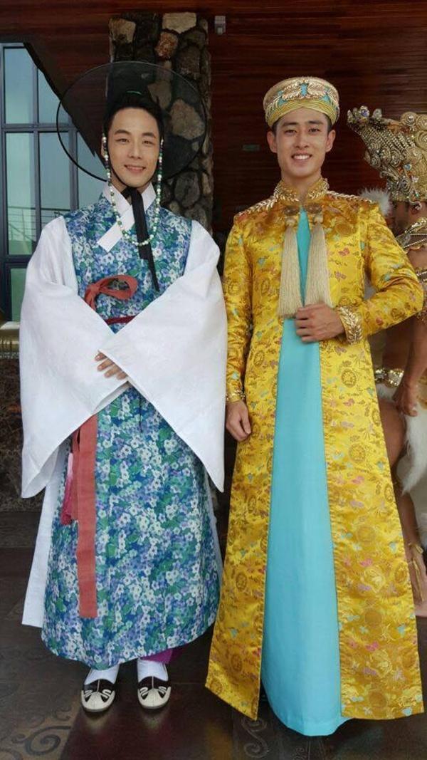 Sau phát ngôn 'áo dài để mặc đám ma', Tiến Đạt xếp hạng nhất tại Mister International 2017 - Ảnh 6
