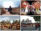 Trải nghiệm lễ hội Tết mọi vùng miền qua ảnh 360 độ