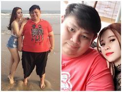 Cô gái xinh đẹp yêu chàng trai nặng hơn mình 83 kg