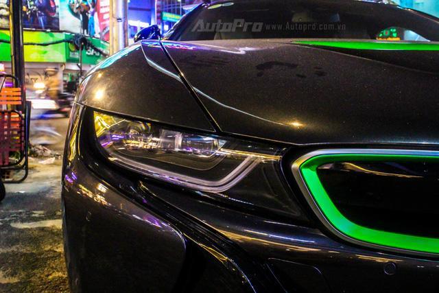 BMW i8 của thiếu gia Cà Mau xuất hiện tại Sài thành - Ảnh 11.