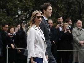 Ái nữ nhà Donald Trump thu hút mọi ánh nhìn trong buổi đón tiếp Thủ tướng Nhật Bản