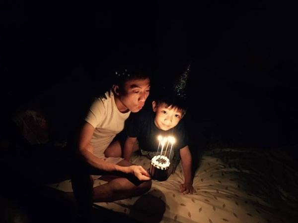 Mới tròn 7 tuổi, Subeo đã nịnh ba Cường 'đô la' ngọt lịm không thể đáng yêu hơn - Ảnh 2