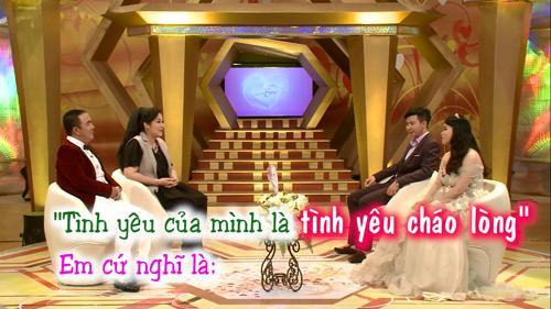 """hong van – quoc thuan cuoi nghieng nga vi doi """"vo chong chao long"""" - 1"""