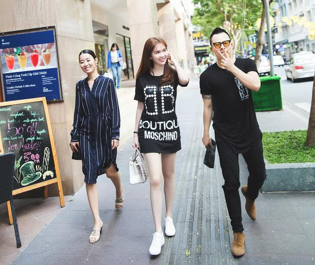 Mỹ Linh, Ngọc Trinh...đều diện đồ đen trong street style