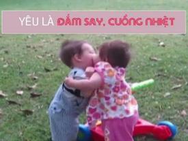 Ngày Valentine, bé con kể bạn nghe chuyện tình yêu siêu dễ thương, dễ hiểu