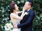 Chọn ngày Valentine, Vy Oanh tung ảnh cưới với 'người tình trong bóng tối'
