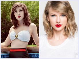 """Dân mạng truy tìm nữ cosplayer được cho là """"chị em sinh đôi thất lạc"""" với Taylor Swift"""