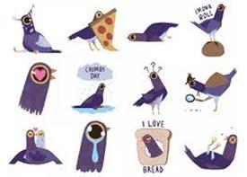 Vì sao 'chú chim màu tím' trở thành cơn sốt trên mạng?
