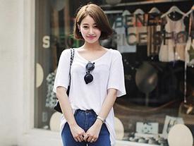 Mặc áo thun trắng 'chất' và 'chuẩn' như fashionista