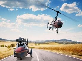 PAL-V Liberty - ô tô bay sắp trình làng, giá khoảng 14 tỷ đồng