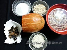 Chè bí đỏ thơm ngon, bổ dưỡng, giải độc cơ thể