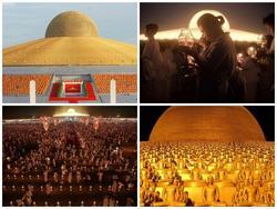 Ngôi chùa tràn ngập tượng mạ vàng của sư Thái bị truy nã