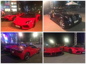 Dàn siêu xe mui trần tụ họp tại Hà thành
