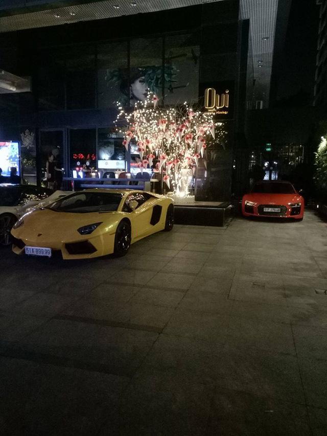 Dàn siêu xe khủng của đại gia Sài thành đi chơi bar cuối tuần - Ảnh 5.