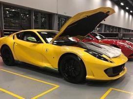 Siêu xe thương mại Ferrari nhanh nhất lộ ảnh thực tế