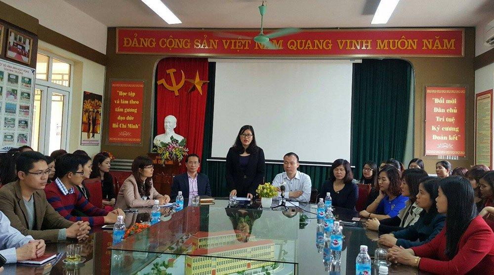 Tai Nạn Trường Tiểu Học Nam Trung Yên, Cách Chức Hiệu Trưởng, Hiệu Trưởng