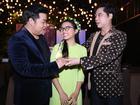 Hâm mộ lẫn nhau, Quang Lê và Ngọc Sơn 'tay bắt mặt mừng' khi gặp mặt
