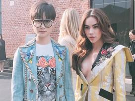 Hồ Ngọc Hà đẳng cấp sánh vai cùng dàn sao hot trên Instagram của Gucci