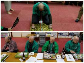 Không đâu dị bằng Nhật Bản: Cuộc thi kéo co bằng đầu chỉ dành cho quý ông hói