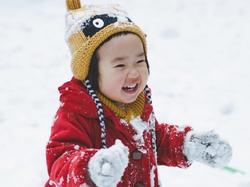 'Thánh ăn' Tiểu Man đốn tim fan với bộ ảnh tuyết trắng cực đáng yêu