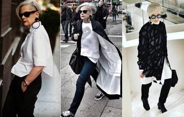 Làng thời trang thế giới 'giật mình' với cơn lốc sắc màu của lão bà 64 tuổi