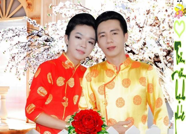 Dam cuoi dac biet cua cap doi dong tinh o Tien Giang