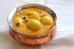 Ấn Độ: Trứng cà ri là món ăn chay được làm từ trứng luộc (được khía các vết nhỏ) nấu cùng hành tây, cà chua, cà ri và ớt xanh trong khoảng 10 phút để sánh quện sau đó thưởng thức.