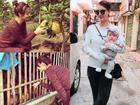 Sau những tranh cãi tình riêng, Hồng Quế tận hưởng cuộc sống 'single mom' vẫn vui
