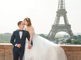 Hotgirl Tú Linh khoe ảnh cưới lộng lẫy tại 3 nước Việt Nam - Ý - Pháp