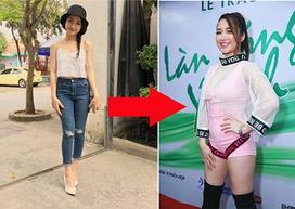 Bị chê béo ú, Hòa Minzy đã giảm 10kg nhờ thực đơn