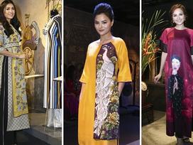 'Rừng' sao Việt mặc áo dài truyền thống khiến bao người yêu mến