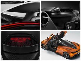 Siêu xe McLaren 720S tiếp tục lộ diện với cửa và bảng đồng hồ độc đáo