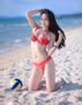 Thân hình nõn nà, hoàn mỹ khi diện áo tắm của Kỳ Duyên giúp cô trở nên nổi bật trong cuộc thi Hoa hậu Việt Nam 2014.