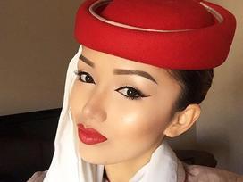 Cô gái Việt xinh đẹp chia sẻ kinh nghiệm trở thành tiếp viên của hãng hàng không Dubai
