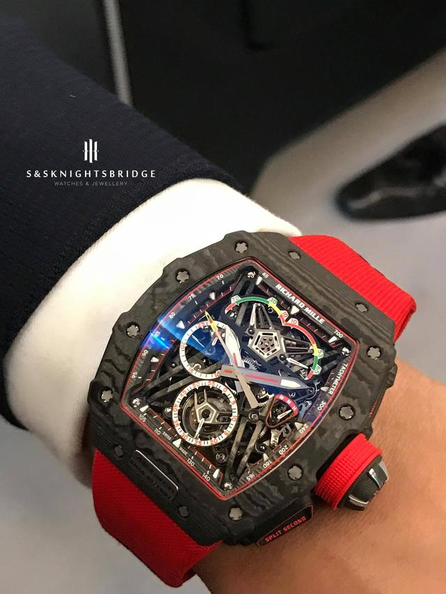 Khám phá siêu đồng hồ triệu đô của Richard Mille và McLaren - Ảnh 4.