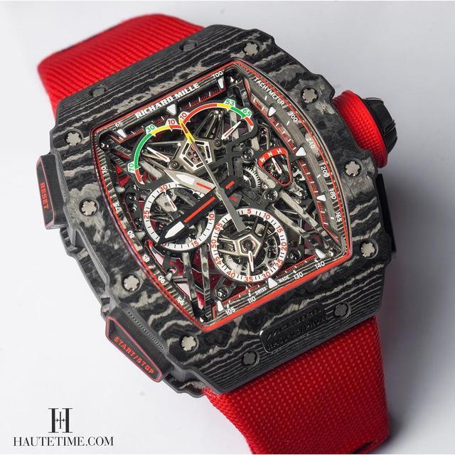 Khám phá siêu đồng hồ triệu đô của Richard Mille và McLaren - Ảnh 1.