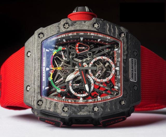 Khám phá siêu đồng hồ triệu đô của Richard Mille và McLaren - Ảnh 2.