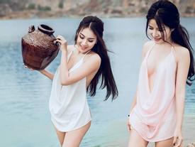 Sao nữ Việt mặc 'nhức mắt' thế này, trách gì hot girl Tuyệt Tình Cốc
