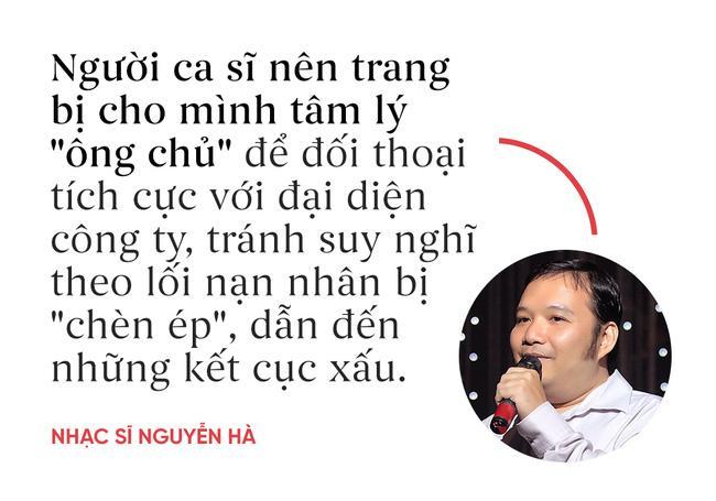 Nhạc sĩ Nguyễn Hà: Khi ký hợp đồng, các ca sĩ có thể bị qua mặt do chưa có kinh nghiệm - Ảnh 1.