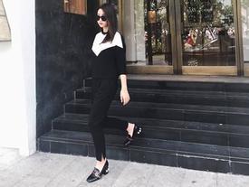 Hoa hậu Đỗ Mỹ Linh đụng giày hiệu xa xỉ với loạt sao quốc tế