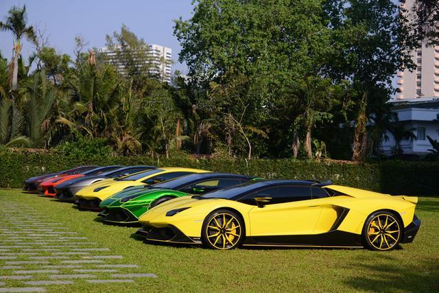 Siêu xe Lamborghini Aventador S ra mắt tại Thái Lan với giá lên đến 22,8 tỷ Đồng - Ảnh 1.