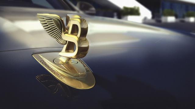 Bentley Mulsanne phiên bản vàng và bạc trình làng - Ảnh 2.