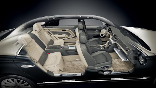 Bentley Mulsanne phiên bản vàng và bạc trình làng - Ảnh 5.