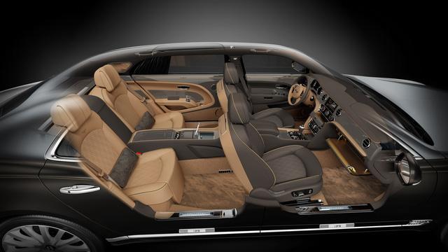 Bentley Mulsanne phiên bản vàng và bạc trình làng - Ảnh 6.