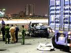 Đôi trai gái văng khỏi ôtô Range Rover sau tai nạn, một người tử vong