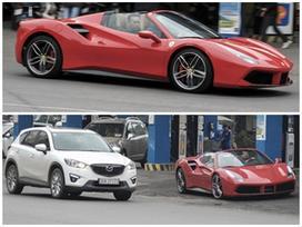 Ferrari 488 Spider dạo phố Hà Thành cuối tuần