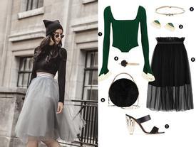 Tulle skirt - chiếc váy 'thần thánh' chiều lòng mọi tín đồ thời trang