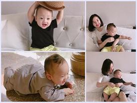 Ly Kute tung bộ ảnh mới kỷ niệm Khoai Tây sắp tròn 1 tuổi siêu dễ thương